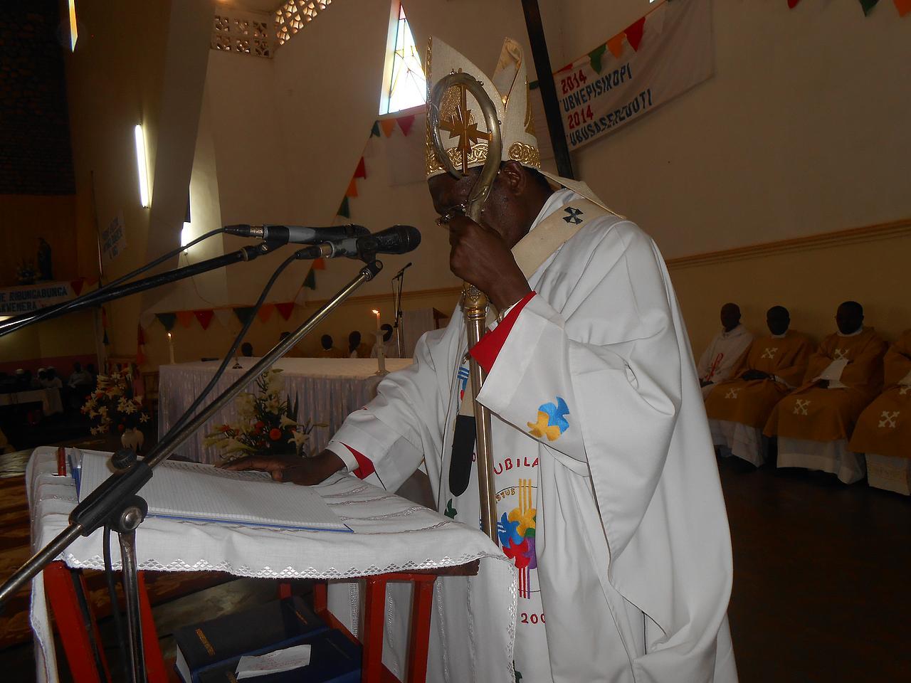 Archidiocese Gitega: KUZIRIKANA
